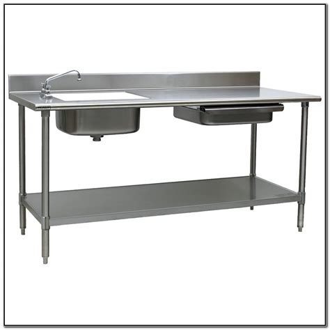 stainless steel table costco stainless steel prep table costco patio storage table