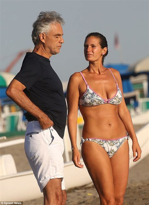 boats and hoes andrea bocelli andrea bocelli enjoys beach day with wife veronica berti