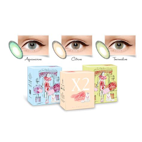 Softlens X2 New A by X2 Glam By Exoticon Softlens Diameter 15 Mm Dan Seperti