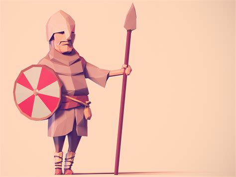 blender tutorial low poly character low poly characters blendernation