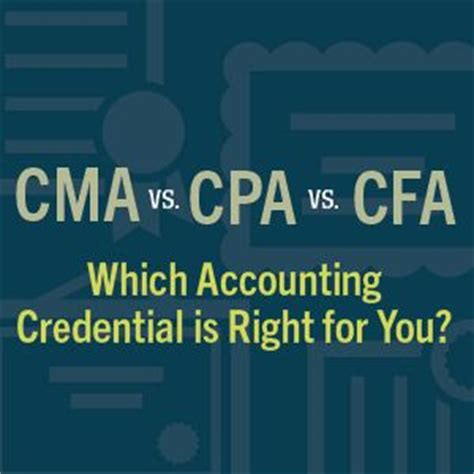 Cma Cpa Cfa Mba by 25 Best Ideas About Accounting Student On