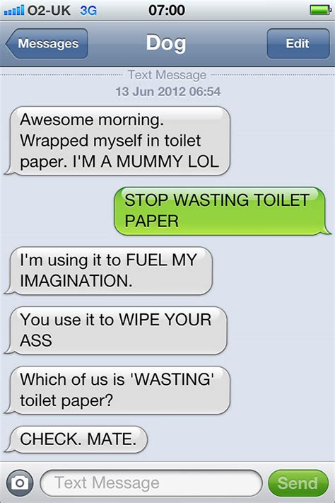 if dogs could text here s what it would look like if dogs could text this is hilarious fill the well