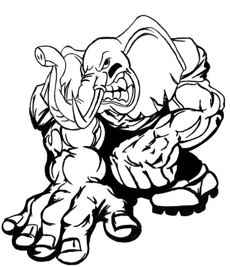 Alabama Crimson Tide Coloring Pages Sketch Coloring Page Alabama Football Coloring Pages