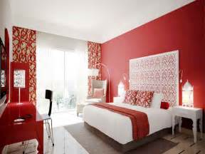 red wall bedrooms fun ideas with view gallery combine various prints patterns and textures