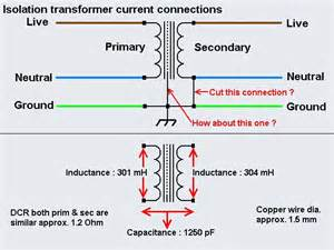 isolation transformer current connection techniek transformers and isolation