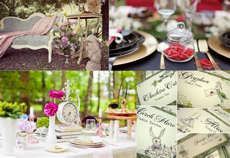 Alice In Wonderland Wedding Theme   Alice In Wonderland