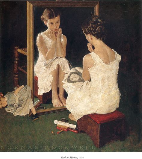 libro a woman looking at online browsing norman rockwell quot it wouldn t be right