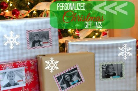 personalized christmas gift tag pinkwhen