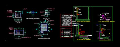 septic tank drawings  autocad  cad
