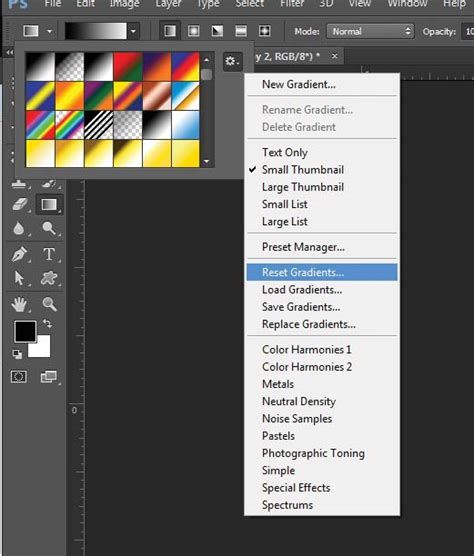 Reset Tool Photoshop Cc | reset layer mask gradient tool in photoshop cc graphic