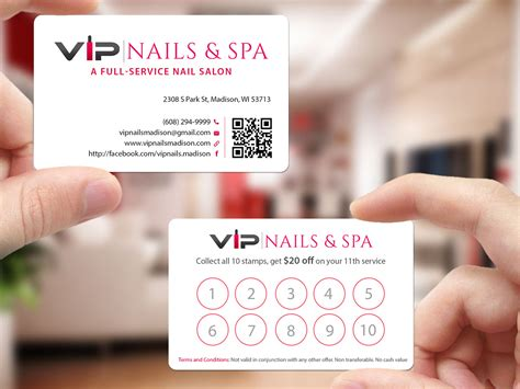 nails business cards templates free nails business cards templates free gallery card design