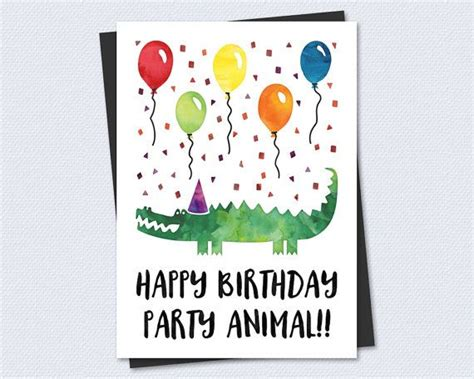 printable animal birthday cards 55 best images about cards on pinterest cards printable