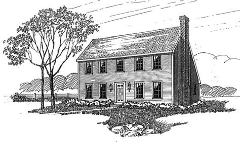 saltbox house plans with garage colonial saltbox home saltbox house plan saltbox colonial homes pinterest