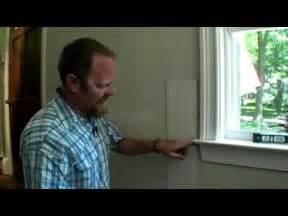 Wainscoting Bedroom building skills how to scribe paneling around window trim