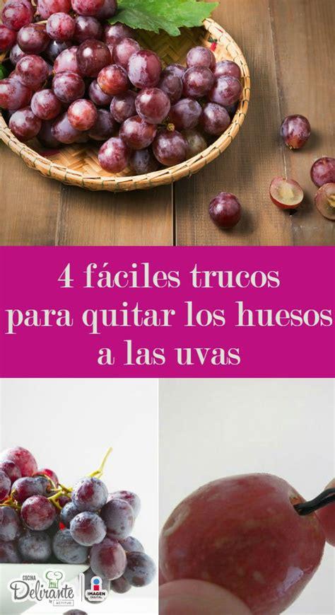diferencias entre uva verde y morada cocinadelirante pasos para quitar las semillas de las uvas cocinadelirante