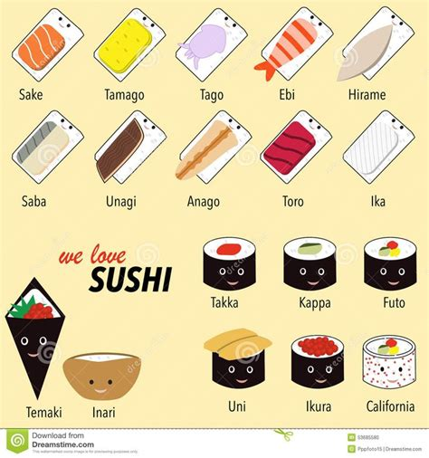 Sushi Variety Diary Deco Stickers Sticker Hiasan Buku 17 best images about learn to draw on fox hat emoticon and sushi