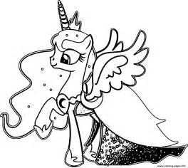 princess luna pony coloring pages printable
