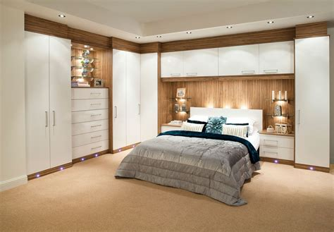 built in bedroom furniture fitted wardrobes ideas modern magazin