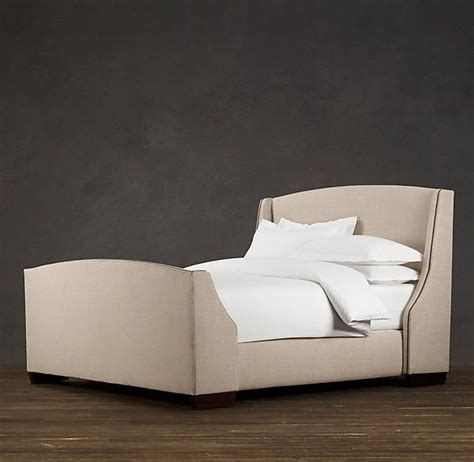 Restoration Hardware Headboards by Warner Upholstered Bed With Footboard Upholstered Beds Restoration Hardware For The Home