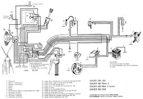 circuit de charge ducati 350 6 volt