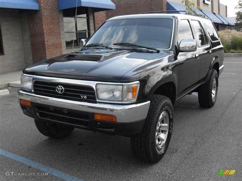 1994 Toyota 4 Runner 1994 Black Toyota 4runner Sr5 4x4 15630203 Photo 2