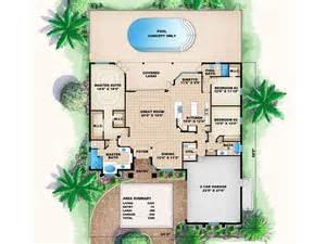 florida house plans one story florida home plan 037h