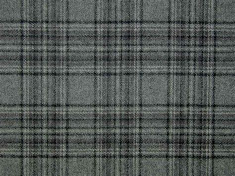 gray curtain fabric stirling wool tartan check grey black curtain upholstery