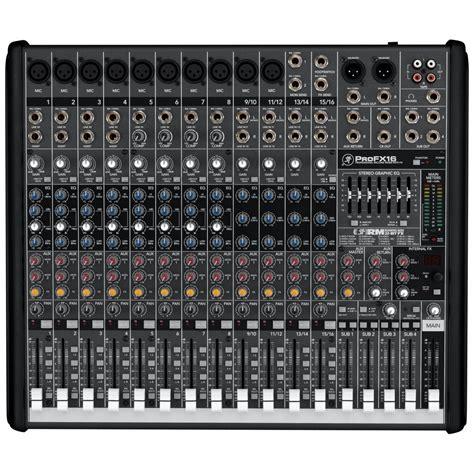 Mixer Audio Mackie mackie profx16 mixer live usb mixer pro fx16