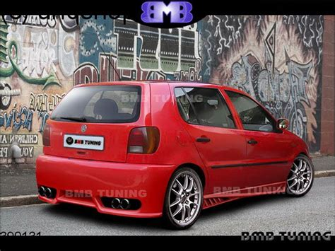 rear bumper vw polo mk