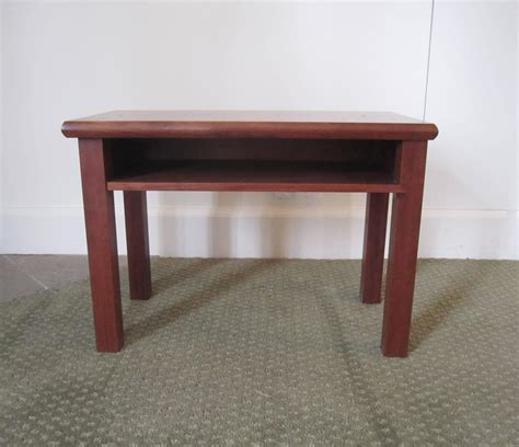 Small Table Shelf by Small End Or Side Table With Shelf For Sale At 1stdibs