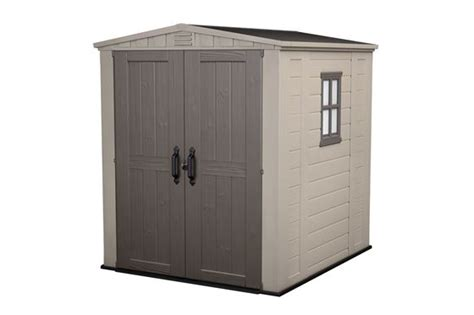 Plastic Shed 6 X 6 by Keter Factor 6 X 6 Plastic Sheds Australia