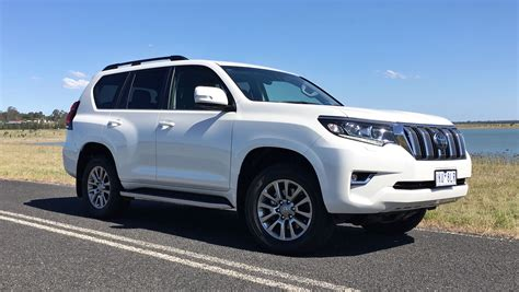 land cruiser prado car toyota prado 2018 review carsguide