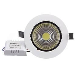 Dimmable Led Light Fixtures Buy 7w Dimmable Cob Led Recessed Ceiling Light Fixture Light Kit Bazaargadgets