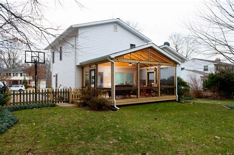 Screen Room Addition Professional Screen Porch Contractor In Fairfax Va With