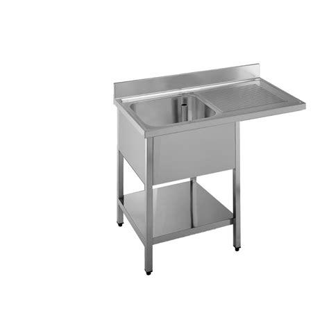 lavello professionale lavello professionale acciaio inox 1 vasca a sbalzo dx