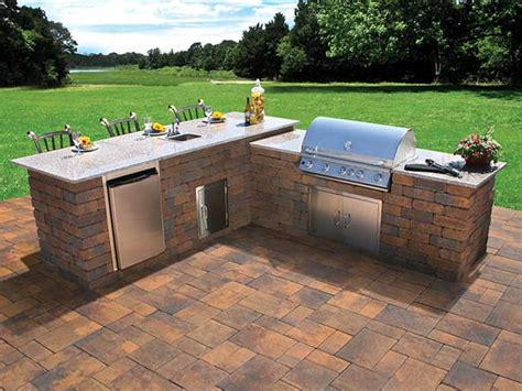 Patio Pavers For Grill And Paver Patios And Firepits Rock