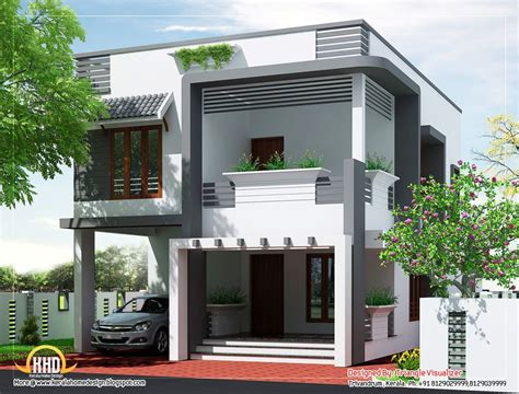 budget house plans budget home design plan by triangle homez poojapura