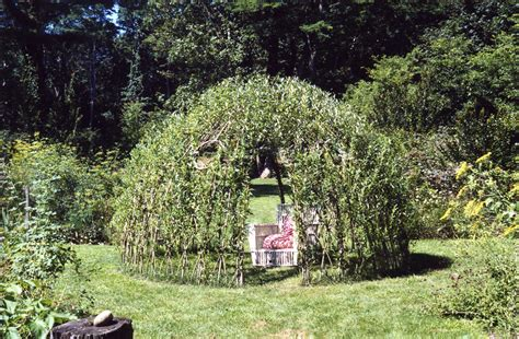 Archway Trellis Willow A New Old Crop Cornell Small Farms Program