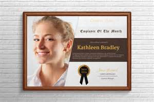 employee of the month certificate template with picture 10 great looking certificate templates for all occasions