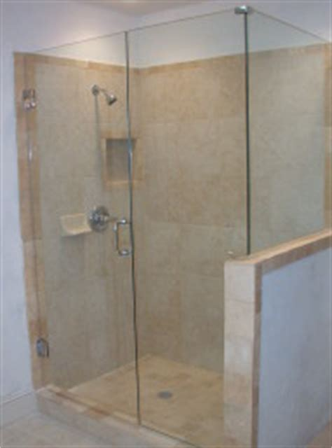 custom made to measure any size frameless shower