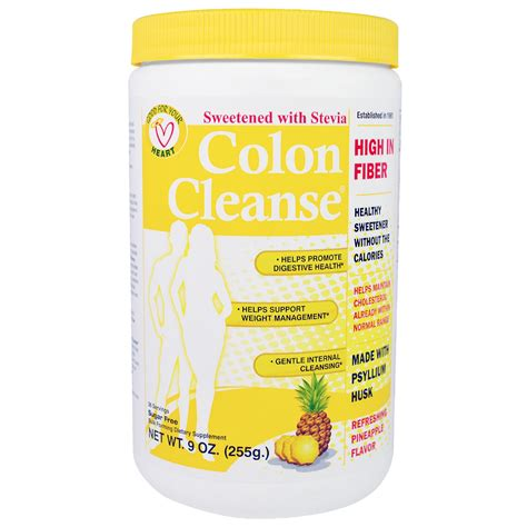 Colon Detox Price by Health Plus Inc Colon Cleanse Sweetened With Stevia