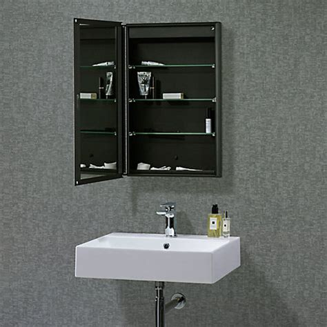 double sided mirror bathroom cabinet buy roper rhodes limit slimline single bathroom cabinet with double sided mirror