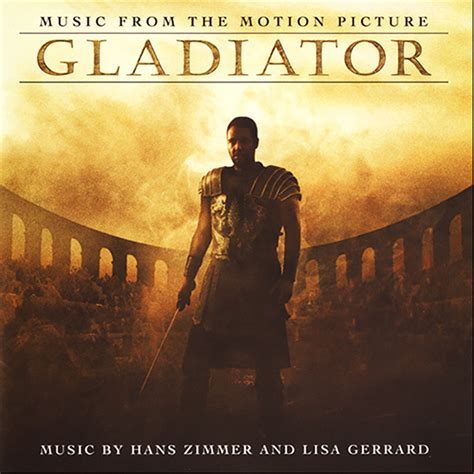 theme music gladiator movie gladiator soundtrack details soundtrackcollector com