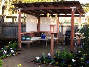 Diy Garden Pergola by Pergolas And Other Outdoor Structures Diy Shed Pergola