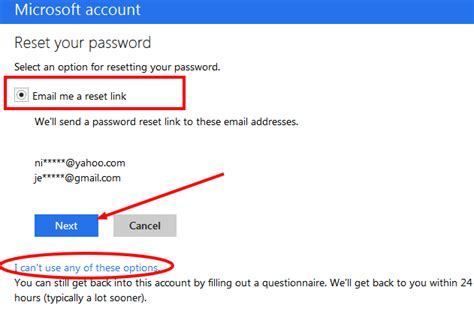 reset windows 8 password hotmail cannot access my hotmail account as i dont have the new code
