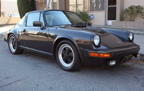 porsche targa 1980 1980 porsche 911 targa black metallic buy volks