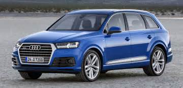 Audi Q3 7 Seater Audi Q7 Second Generation 7 Seater Suv Debuts Image 295880