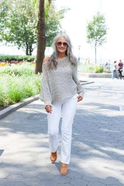 pictures o clothes for 55 yras old how this 63 year old model stays gorgeous aol lifestyle