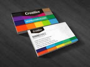 business card styles 25 colorful business cards the finished box