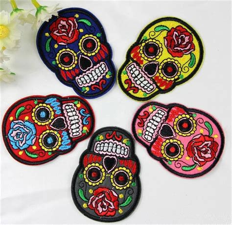 design online patches popular skull embroidery designs buy cheap skull